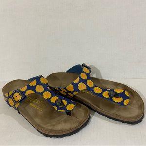 Birkenstock Papillio Gizeh floral sandal